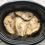 Slow Cooked Chicken Breast