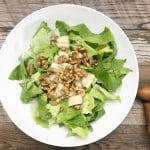 candied walnut pear salad