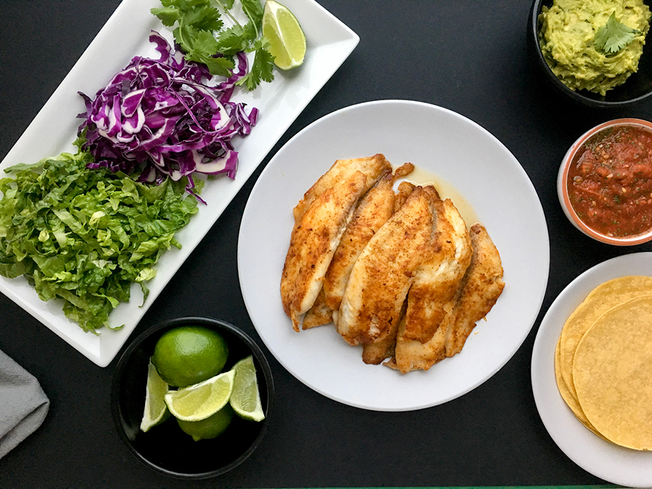 Healthy Fish Taco Recipe