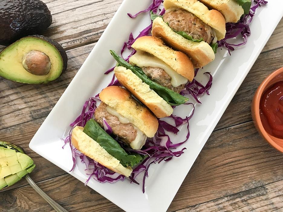 turkey-burger-sliders-on-hawaiian-rolls-2