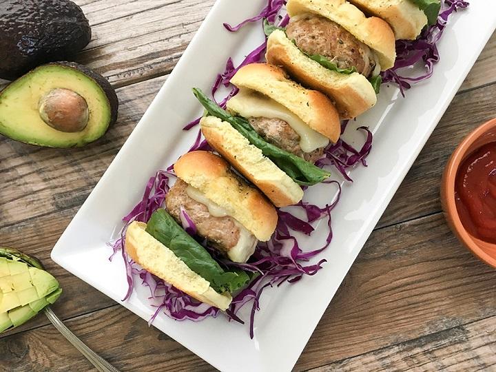 turkey-burger-sliders-on-hawaiian-rolls-2-720