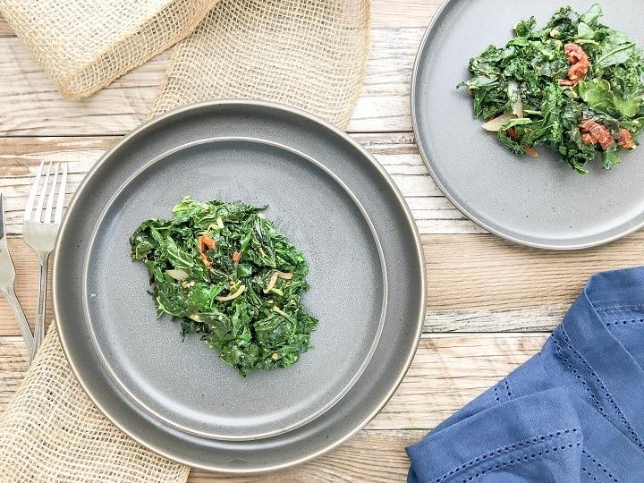 stir fry kale