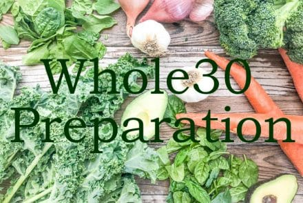 whole30 timeline preparation