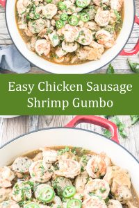 chicken sausage shrimp gumbo image for pinterest