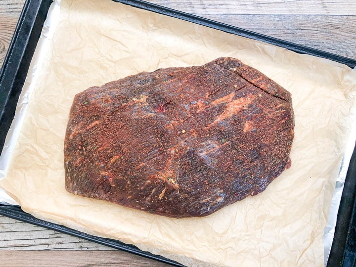 beef brisket with dry rub